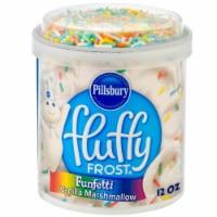 Pillsbury Fluffy Frost Funfetti Vanilla Marshmallow Frosting - 12 oz