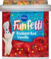Pillsbury Funfetti Radiant Red Frosting - 15.6 oz
