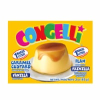 Congelli Vanilla Caramel Custard Flan