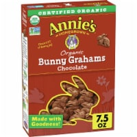 Annie's Homegrown Organic Chocolate Bunny Grahams Baked Graham Snacks
