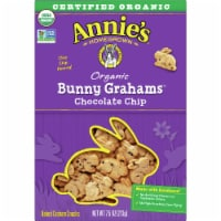 Annie's Organic Chocolate Chip Bunny Grahams