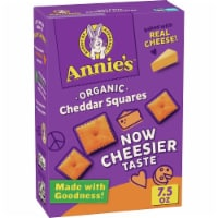 Annie's Organic Cheddar Squares Baked Snack Crackers