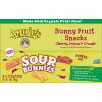 Annie's Homegrown Sour Bunnies Bunny Fruit Snacks