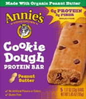 Annie's™ Homegrown Organic Peanut Butter Cookie Dough Protein Bars - 5 ct / 1.17 oz
