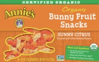 Annie's Organic Sunny Citrus Bunny Fruit Snacks