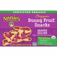 Annie's Organic Grape Galore Bunny Fruit Snacks