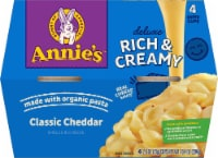 Annie's Deluxe Rich & Creamy Shells & Classic Cheddar Cups