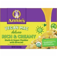 Annie's Organic Deluxe Rich & Creamy Shells & Vegan Cheddar with Broccoli