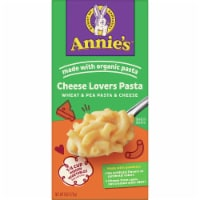 Annie's Cheese Lovers Wheat & Pea Pasta and Cheese - 6 oz