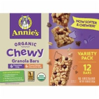 Annie's Organic Chewy Granola Bars Variety Pack 12 Count