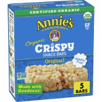 Annie's Organic Original Crispy Snack Bars 5 Count