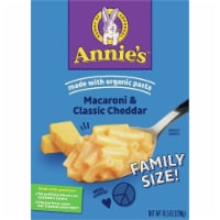 Annie's Classic Cheddar Macaroni & Cheese Family Size