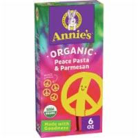 Annie's Organic Peace Pasta & Parmesan Macaroni & Cheese