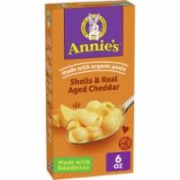 Annie's Shells & Aged Cheddar Macaroni & Cheese