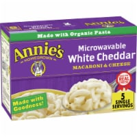 Annie's Microwavable White Cheddar Macaroni & Cheese 5 Count