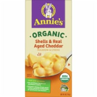 Annie's Organic Shells & Real Aged Cheddar Macaroni & Cheese