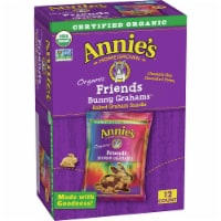 Annie's Organic Friends Bunny Grahams 12 Count