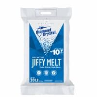 Diamond Crystal Jiffy Melt Blended Crystal Ice Melt 20 lb. - Case Of: 1;