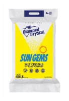 Diamond Crystal Sun Gems Water Softener Salt Crystal 40 lb. - Case Of: 1; - Count of: 1