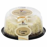 Just Desserts Lemon Cake - 21 oz