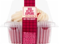 Just Desserts Red Velvet Cupcake