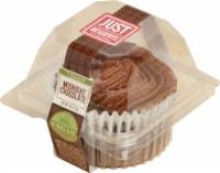 Just Desserts Vegan Midnight Chocolate Cupcake