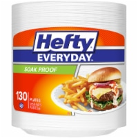 Hefty Everyday Soak Proof Disposable Plates