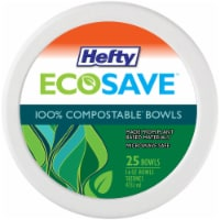 Hefty Ecosave Compostable Bowls - 16 oz