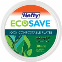 Hefty® EcoSave Compostable Plates