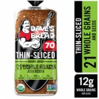 Dave's Killer Bread Organic Thin-Sliced 21 Whole Grains and Seeds Bread