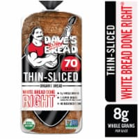 Dave's Killer Organic Thin Sliced Done Right White Bread