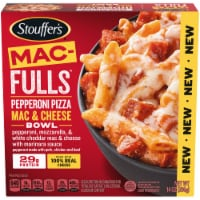 Stouffer's® Mac-Fulls™ Pepperoni Pizza Mac & Cheese Bowl Frozen Meal - 14 oz