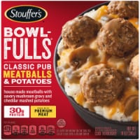Stouffer's Bowl-Fulls Classic Pub Meatballs & Potatoes Frozen Meal