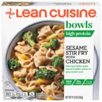 Lean Cuisine Seasame Stir Fry with Chicken Bowl Frozen Meal