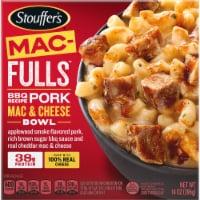 Stouffer's® Mac-Fulls™ BBQ Recipe Pork Mac & Cheese Bowl Frozen Meal - 14 oz