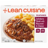 Lean Cuisine Features Salisbury Steak with Macaroni & Cheese Frozen Meal