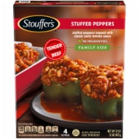 Stouffer's Classics Stuffed Peppers Family Size 4 Count
