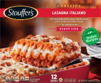 Stouffer's Classics Lasagna Italiano Frozen Meal Party Size