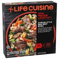 Life Cuisine Korean Style BBQ Beef Bowl Frozen Meal