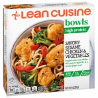 Lean Cuisine Bowls Savory Sesame Chicken & Vegetables Frozen Meal