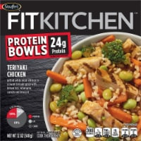 Stouffer's Fit Kitchen Bowls Teriyaki Chicken Bowl Frozen Meal