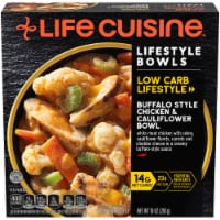 Life Cuisine Lifestyle Bowls Buffalo Style Chicken & Cauliflower Bowl Frozen Meal