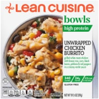 Lean Cuisine Unwrapped Chicken Burrito Bowl Frozen Meal