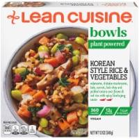 Lean Cuisine Plant Powered Korean Style Rice & Vegetables Bowl Frozen Meal