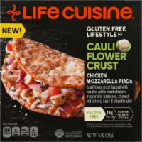 Life Cuisine Cauliflower Crust Chicken Mozzarella Piada Frozen Meal