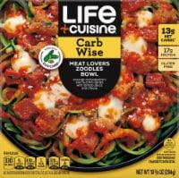 Life Cuisine Meatlovers Zoodles Bowl Frozen Entrée - 10.375 oz