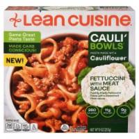 Lean Cuisine Cauli'Bowls Fettucini with Meat Sauce Cauliflower Pasta Frozen Meal