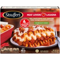 Stouffer's Classics Meat Lovers Lasagna Family Size Frozen Meal