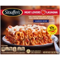 Stouffer's Large Size Meat Lovers Lasagna Frozen Meal