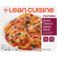 Lean Cuisine Features Ricotta Cheese & Spinach Ravioli Frozen Meal